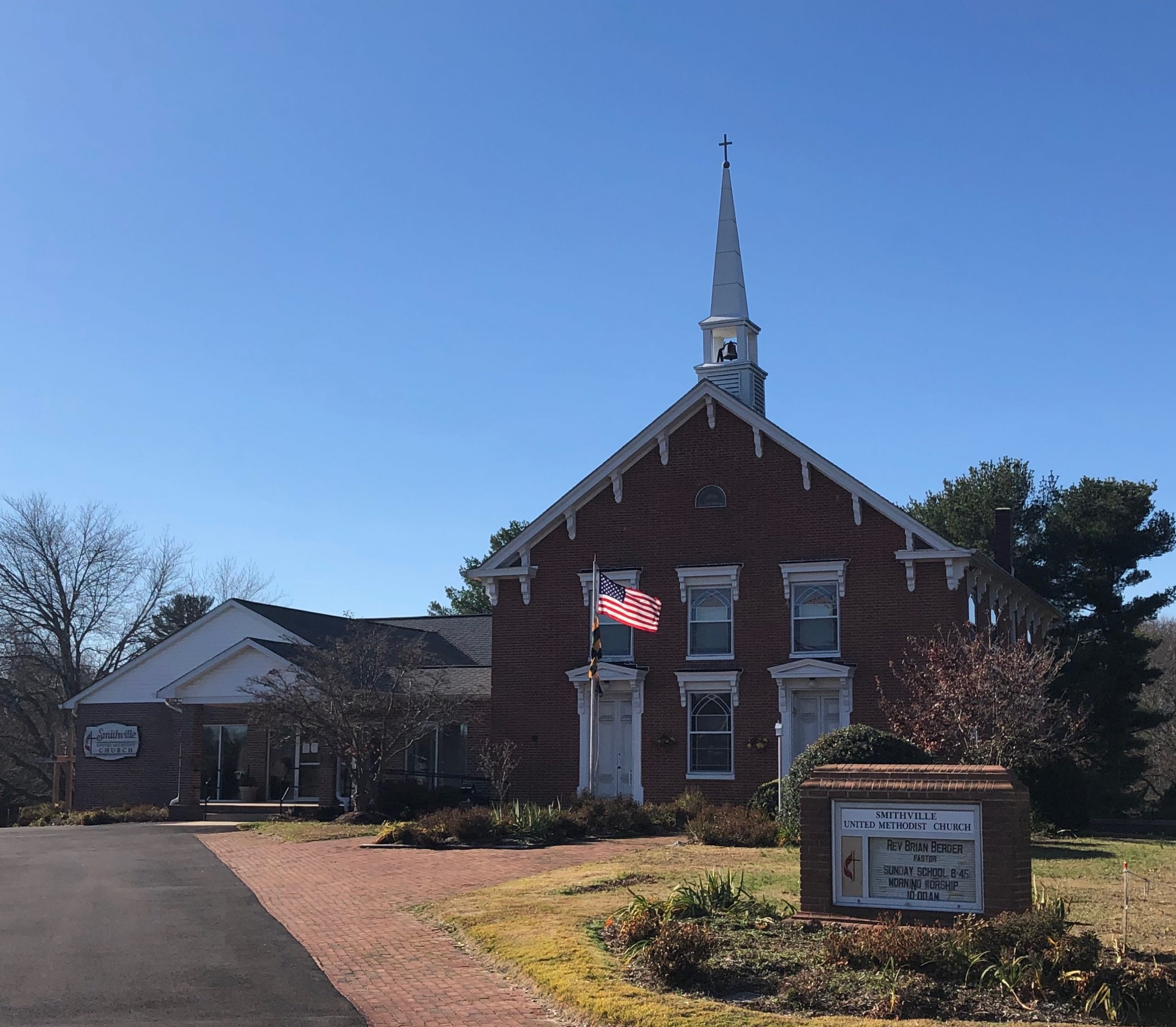 Smithville United Methodist Church  -                  Making disciples of Jesus Christ by loving, praying and serving.
